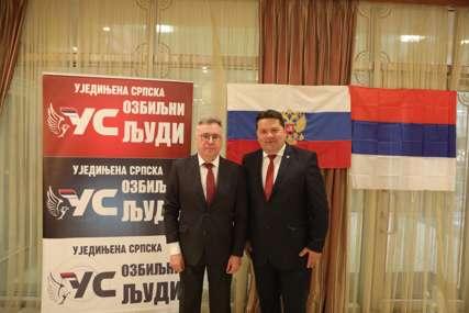 Stevandić nakon sastanka sa Kalabuhovim: Zahvalni smo Rusiji zbog pomoći Srpskoj