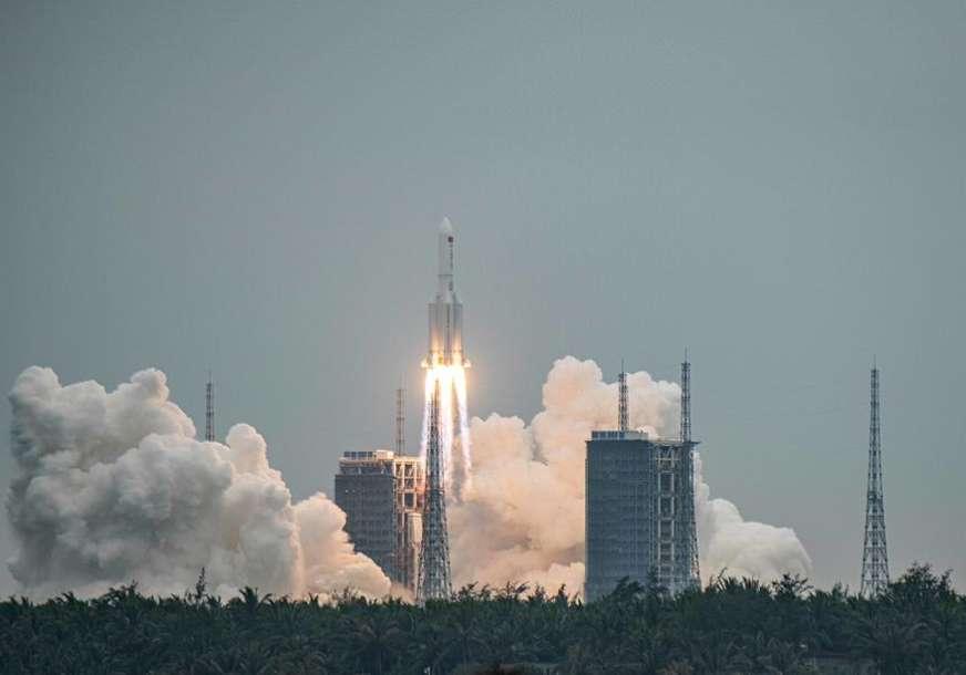 """Kina se POHVALILA uspjehom: Raketa """"Dugi marš 7"""" se spojila sa modulom buduće svemirske stanice"""