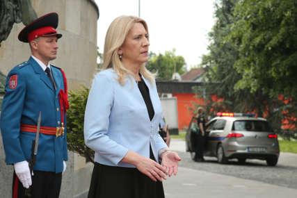"""Cvijanovićeva sa novoimenovim ambasadorom Turske """"Jačanje ekonomskih veza"""" (FOTO)"""