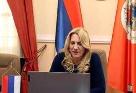 """""""Regionalnu saradnju podići na najviši nivo"""" Cvijanovićeva poručila da politička opterećenje ne trebaju biti kočnica"""