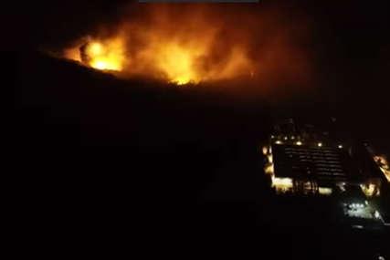 GRAD SE TRESAO DVA SATA Snimak dronom pokazuje koliko je bila jeziva eksplozija u Čačku (VIDEO)