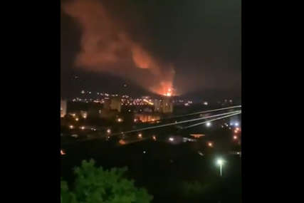 Mjesto gdje je nedavno izgorio magacin: Detonacija u fabrici Sloboda u Čačku