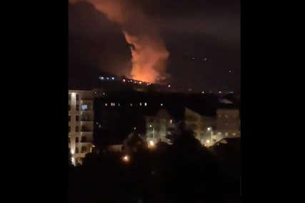 """JOŠ SE ČUJU DETONACIJE Serija snažnih eksplozija u fabrici """"Sloboda"""" potresla je Čačak, radnici evakuisani (VIDEO)"""