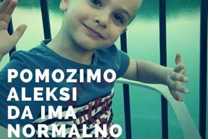 Za normalno djetinjstvo: Pomozimo malom Aleksi