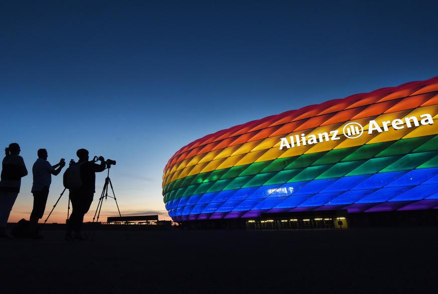 UEFA REKLA NE Odbijen zahtjev Njemačke da stadion u Minhenu oboji duginim bojama