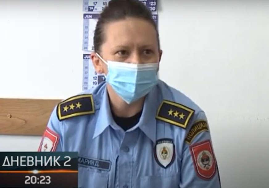 """""""OPET BI IZABRALA ISTO"""" Biljana Marin je komandir Policijske stanice u Kostajnici i ovako opisuje svoj posao"""