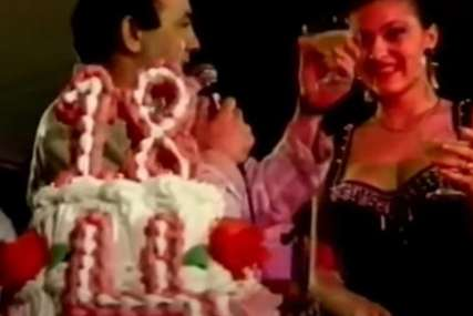 TORTA NA ŠEST SPRATOVA Ovako je izgledao Cecin 18. rođendan, u uskoj haljini oduševila sve (FOTO)