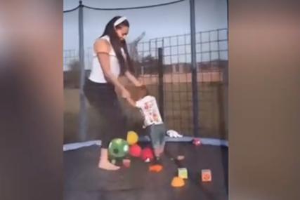 Ceca skakuće sa unukom na trambolini: Anastasija zabilježila zanimljive porodične momente (VIDEO)