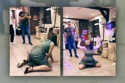 """""""Znači, to je ta Gara"""" Ples djevojke na slavlju zapalio društvene mreže (VIDEO)"""