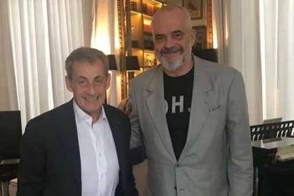 RAMA KOD SARKOZIJA Premijera Albanije savjetuje bivši predsjednik Francuske koji je osuđen zbog korupcije (FOTO)