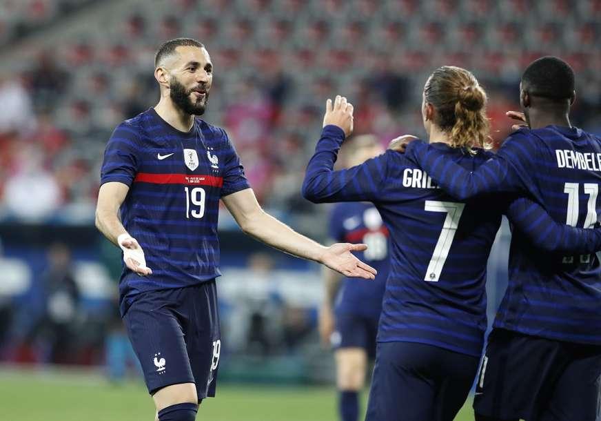 OLAKŠANJE ZA FRANCUZE Benzema spreman za meč protiv Njemačke