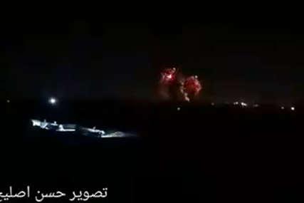 Kraj primirija, GAZA U PLAMENU: Izrael izveo vazdušni napad, tvrde da zbog Hamasa gore zgrade u Jerusalimu (VIDEO)