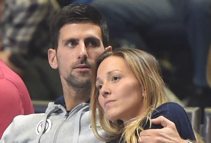 """Novak se našalio na Jelenin račun """"Ovako si izgledala prije mog meča sa Nadalom, a ovako poslije"""" (FOTO)"""