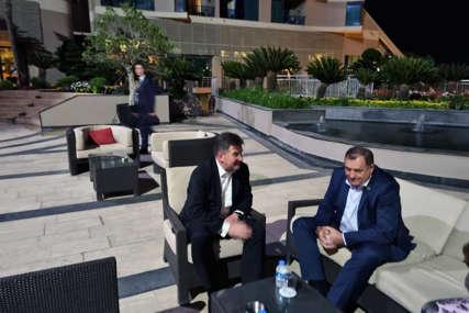 Dodik nakon sastanka sa Lajčakom: Dijalog je pravi način za rješavanje problema u BiH