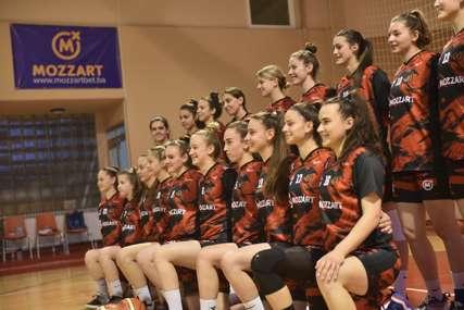 Veliki korak za Malene: Mozzart podržao košarkašice Mladog Krajišnika