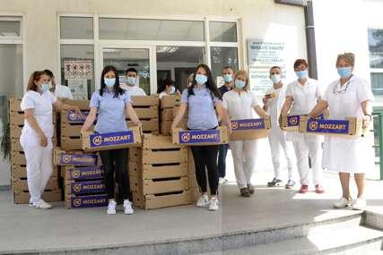 Mozzart u Nevesinju nastavio akciju podjele vitaminskih paketa