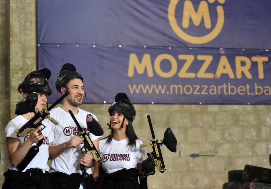 Za popularizaciju sporta: Mozzart podržao Paintball klub Borac