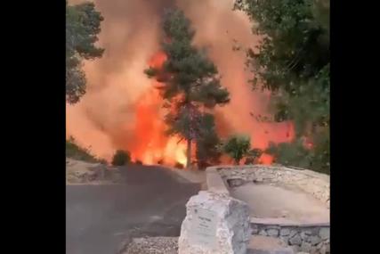 Veliki požar u blizini Jerusalima: Vatrena stihija guta sve pred sobom, zatvoren auto-put, naređena hitna evakuacija (VIDEO)