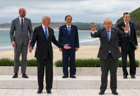 Trodnevni samit lidera G7: Džonson dočekao lidere Južne Koreje, Australije kao i Gutereša
