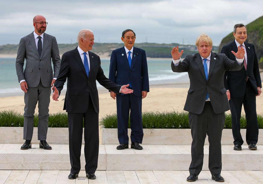 SAMIT G7 JE POČEO Džonson poželio dobrodošlicu liderima: Više se nikada ne smije ponoviti ova pandemija (VIDEO)