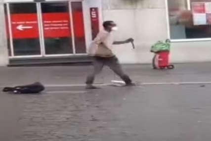 """Objavljene slike napadača iz Vircburga, vikao je """"Alahu Akbar"""" i ciljao žene"""