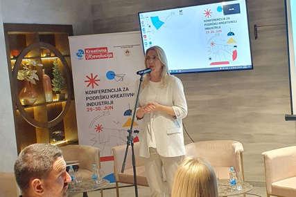 Cvijanović: Kreativna industrija doprinosi razvoju ekonomije