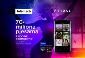 Stigao je TIDAL - najbolji zvuk koji te prati svuda, sada uz Telemach BH!