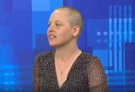 """""""Noge su mi otkazivale, mišići boljeli, nisam odustala"""" Tamara je prije mjesec dana završila sa hemioterapijom, a onda je učestvovala u trci sa 35 prepreka"""