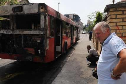 """""""Molio sam boga da ne zahvati naftu"""" Svjedočenje vozača autobusa koji je jutros izgorio (VIDEO)"""