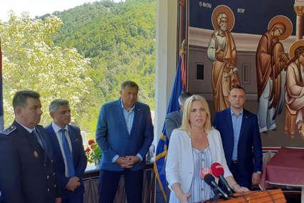 """""""Vidovdan - nacionalni orijentir srpskog naroda"""" Cvijanovićeva na obilježavanju krsne slave Vojske RS"""