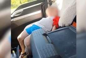 Baka htjela da se pohvali kako vozi unuka i pokrenula buru (VIDEO)