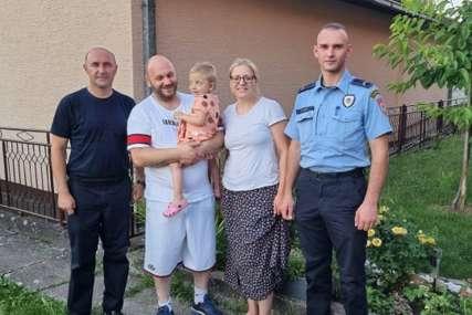 POLICAJCI POKAZALI VELIKO SRCE Odigrali humanitarnu utakmicu za pomoć trogodišnjoj djevojčici iz Modriče
