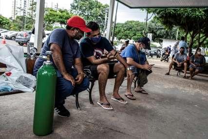 KORONA BUKTI U BRAZILU Za dan više o 66.000 novooboljelih