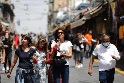 RASTE BROJ ZARAŽENIH Deset dana nakon ukidanja mjere ponovo obavezno nošenje maski u Izraelu