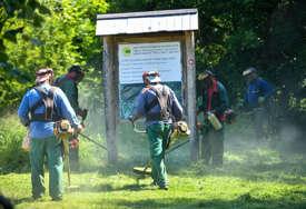 Javna higijena: U toku košnje zelenih površina te uklanjanje ambrozije