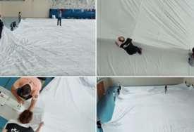 Trka za Ginisov rekord: Švajcarski krojač sašio pantalone duge 70 metara i teške 700 kilograma (FOTO, VIDEO)