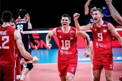 Srbija u odbranu titule kreće od Belgije