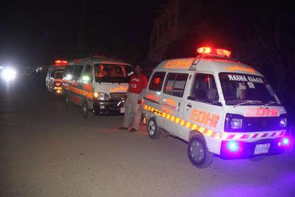 PREVRNUO SE AUTOBUS U teškoj nesreći 19 ljudi poginulo, 50 povrijeđeno