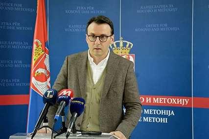 """Petković o dijalogu """"Razgovori u Briselu nisu bili laki, bilo i vrijeđanja od strane Prištine"""""""