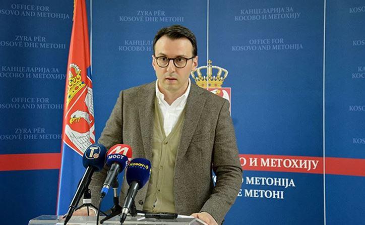 """""""Njegov vrhovni cilj je Velika Albanija"""" Petković poručio da nije kasno da se stane na put Kurtijevom ekstremizmu"""