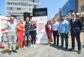 TEČNOST KOJA ŽIVOT ZNAČI Banjaluka obilježila Svjetski dan dobrovoljnih davalaca krvi