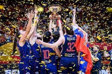 """""""PONOSNI SMO NA VAS"""" Zlatnu medalju košarkašicama Srbije čestitali političari iz Srpske"""