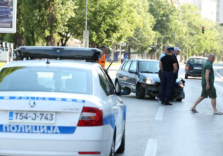 """Saobraćajka u centru Banjaluke: """"Mercedesom"""" udario """"reno"""""""