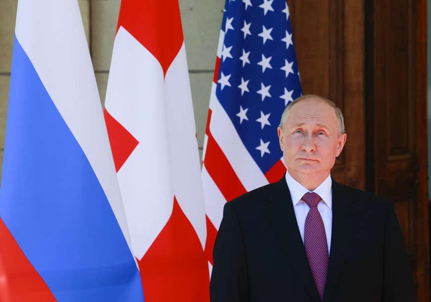 """Putin o međunarodnoj bezbjednosti """"Geopolitički procesi u svijetu postaju sve turbulentniji"""""""