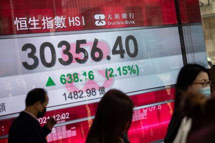 Svjetske berze na nizbrdici: Bauk rastuće inflacije muči investitore