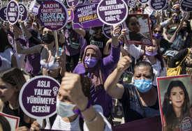 Traže povlačenje odluke Turskog predsjednika: Protest žena u Istanbulu