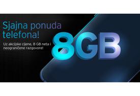 Sjajna ponuda telefona u m:tel webshop-u: Izaberite odlični Hisense H40 Rock i 8 GB mobilnog interneta