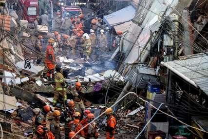POGINULO I DIJETE Srušila se stambena zgrada, na mjestu nesreće više od 100 vatrogasaca