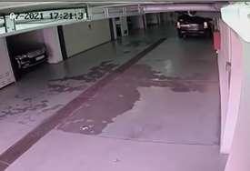 Pojavio se snimak ČEDINE TUČE U GARAŽI? Prvo su iz kola izašla djeca i žena, a onda se desio INCIDENT (VIDEO)