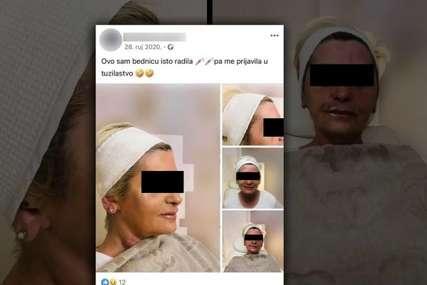 """""""Bjednica me prijavila"""" Nadriljekarka unakazila ženu iz Lukavca, a kada joj se požalila počela da je VRIJEĐA (FOTO)"""